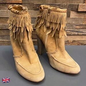 Aquazzura Tiger Lily Suede Heeled Moccasin Booties